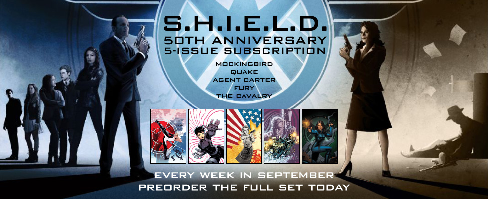 Miniseries Subscription: SHIELD 50th Anniversary #1's x5