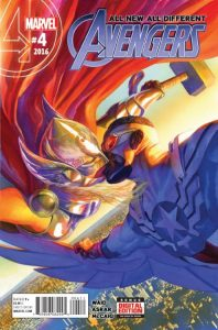 ALL NEW, ALL DIFFERENT AVENGERS #4