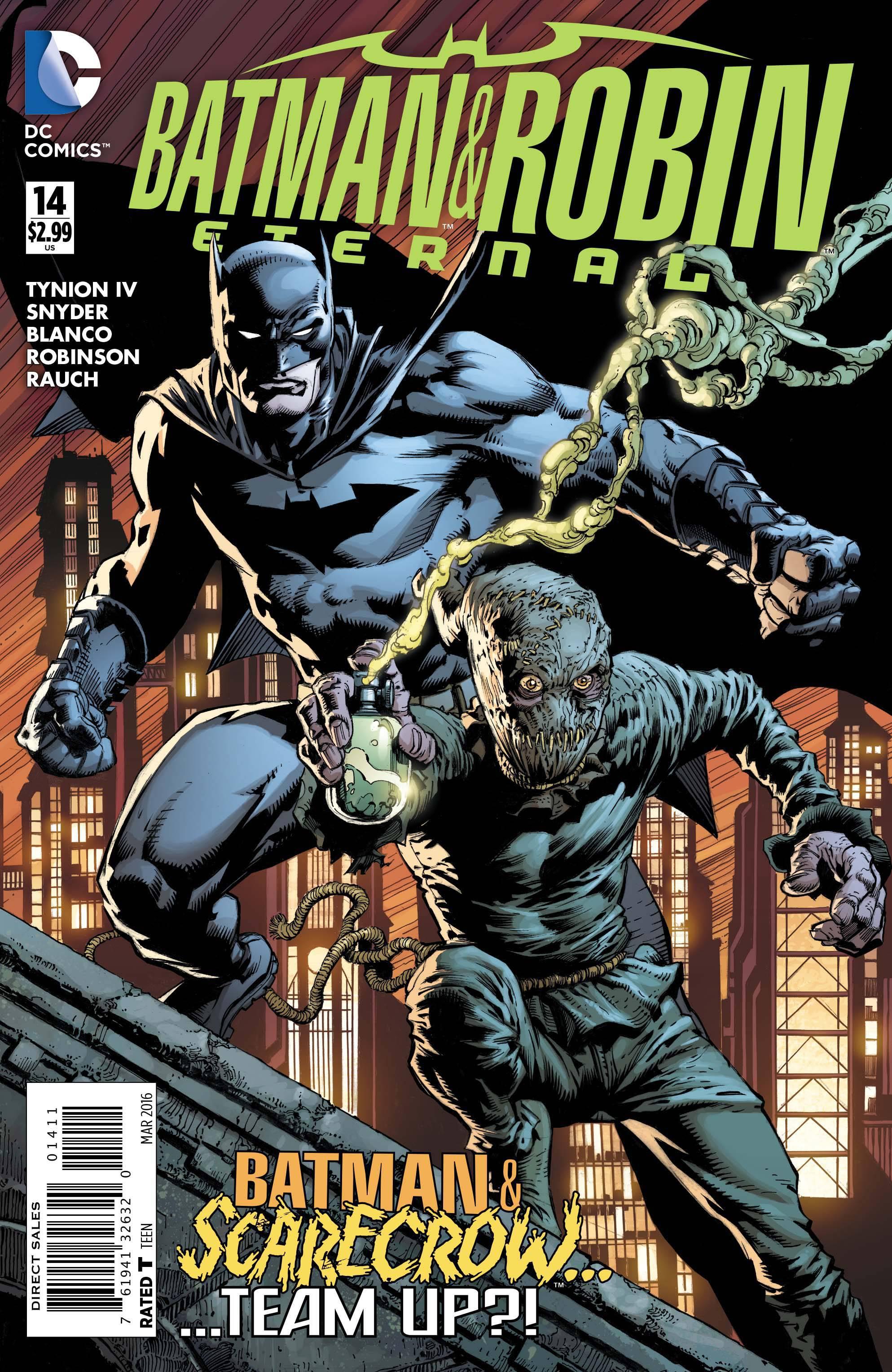 BATMAN AND ROBIN: ETERNAL #14