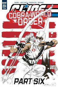 GI JOE: A REAL AMERICAN HERO #224