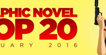 Graphic Novel Top 20: January 2016