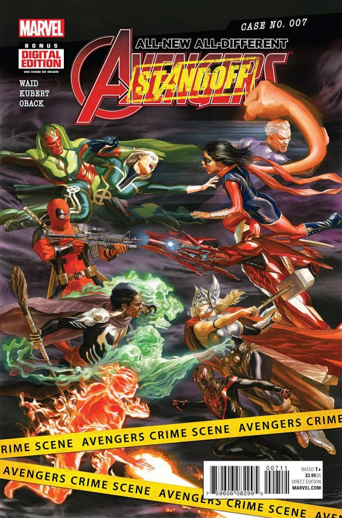 ALL NEW, ALL DIFFERENT AVENGERS #7