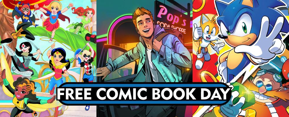Free Comic Book Day 2016