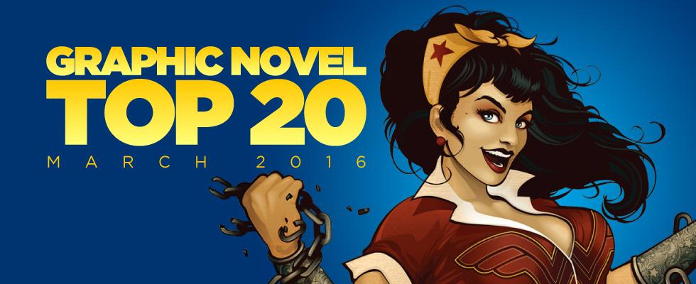 ACE Comics Top 20 Graphic Novels Chart, March 2016