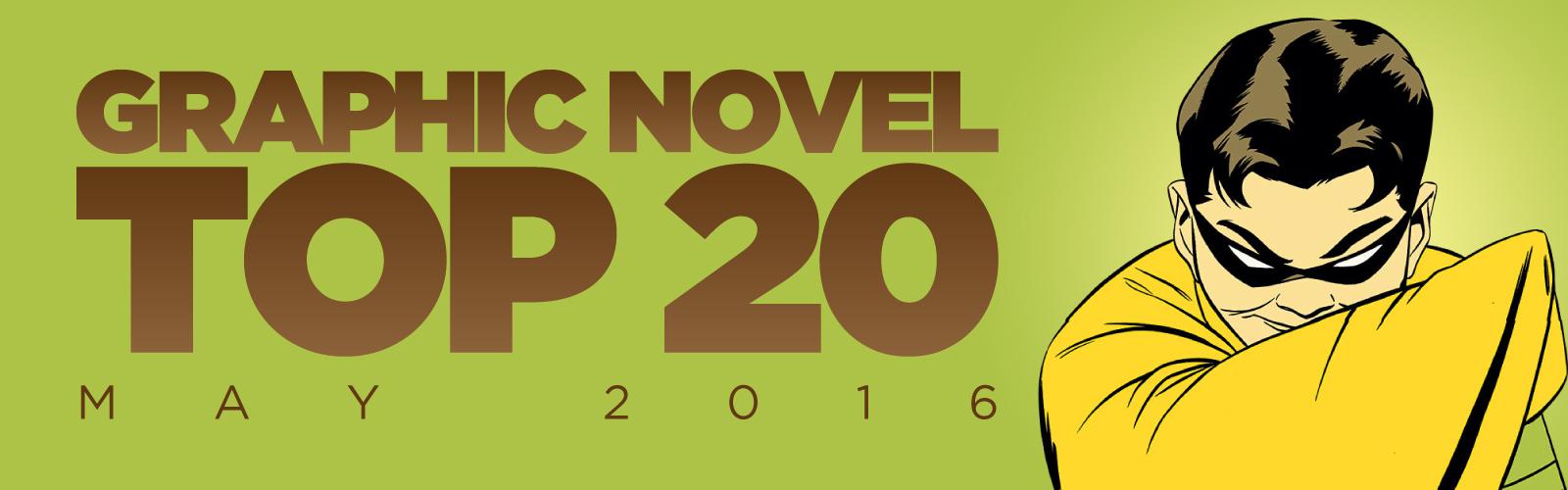 ACE Comics Top 20 Graphic Novels Chart, May 2016
