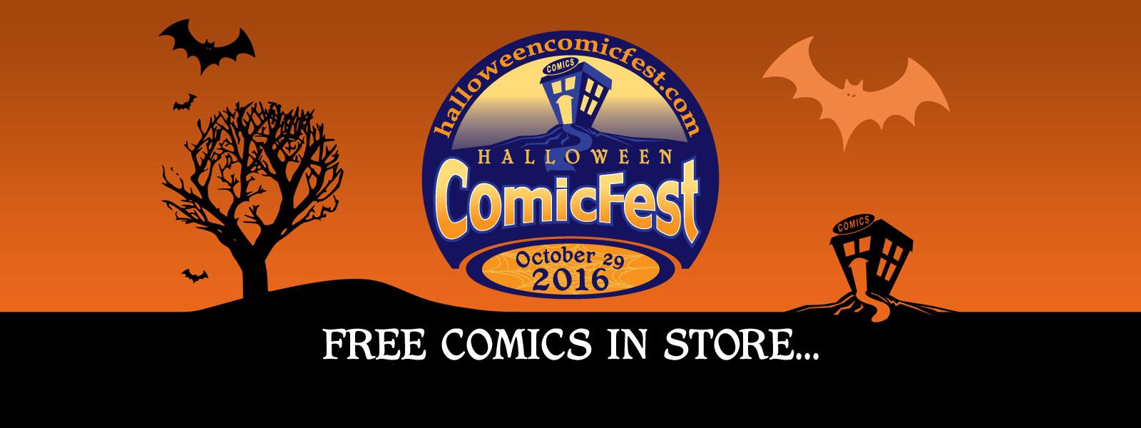 Halloween Comicfest 2016
