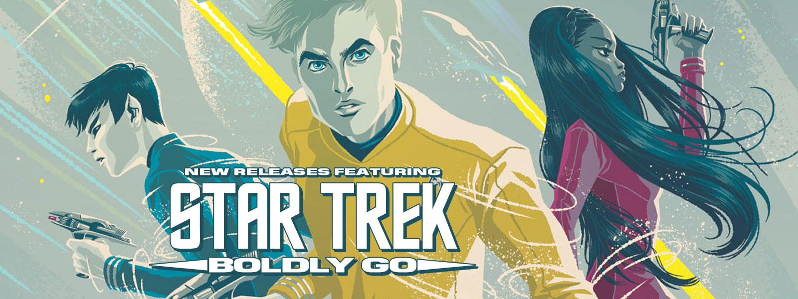 New Releases for 19 October 2016 featuring Star Trek: Boldly Go #1
