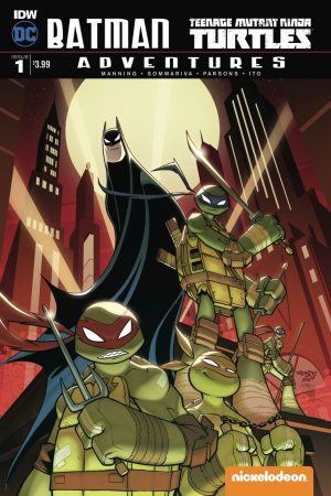 Batman / TMNT Adventures #1