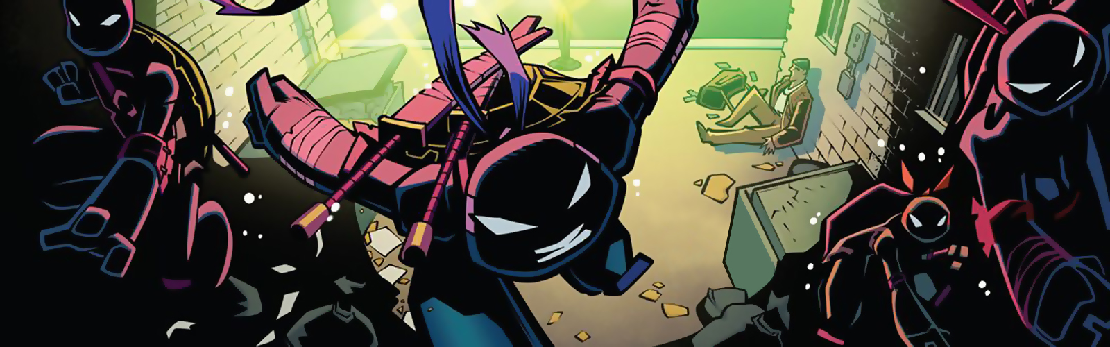 New Releases for 02/11/16 featuring Batman / TMNT Adventures #1