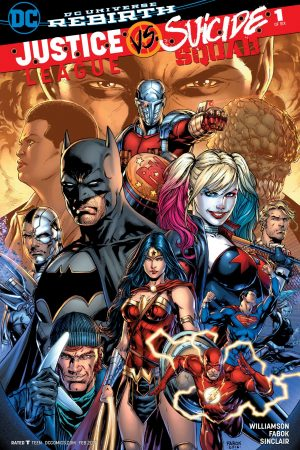 Justice League vs Suicide Squad (2016-) #1