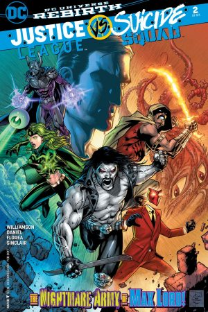 Justice League vs Suicide Squad (2016-) #2