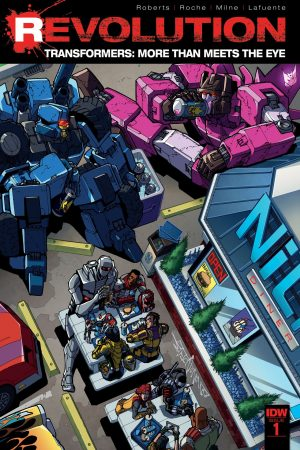 Transformers: More Than Meets the Eye - Revolution #1