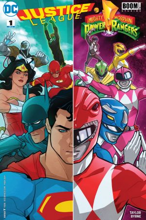 Justice League / Power Rangers (2017-) #1