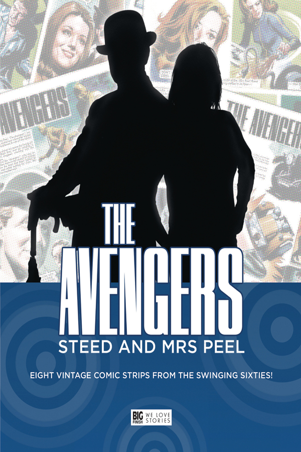 Avengers: Steed And Mrs Peel - Vintage Comic Strips