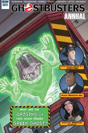 Ghostbusters - Annual 2017