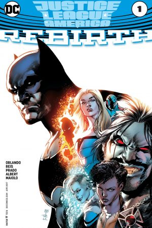 Justice League of America Rebirth (2017) #1