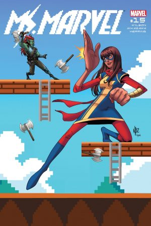 Ms Marvel (2015-) #15