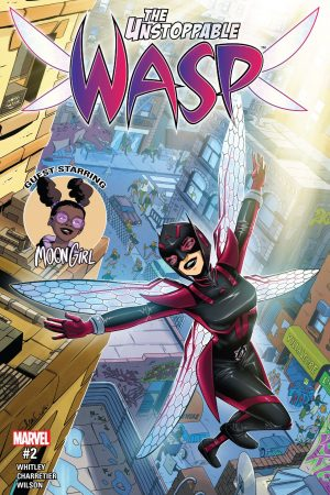 Unstoppable Wasp (2017-) #2
