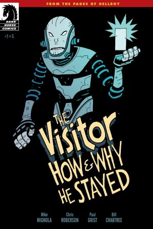 Visitor: How And Why He Stayed #1