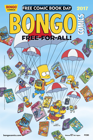 FCBD 2017 BONGO COMICS FREE-FOR-ALL