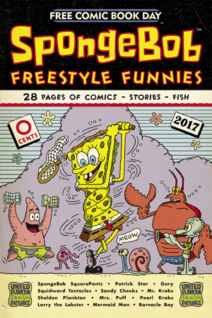 FCBD 2017 SPONGEBOB FREESTYLE
