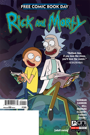 FCBD 2017 RICK & MORTY