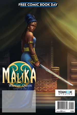 FCBD 2017 MALIKA WARRIOR QUEEN
