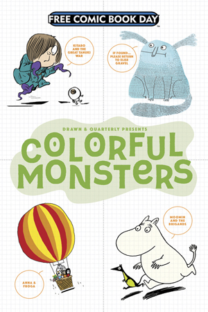 FCBD 2017 COLORFUL MONSTERS