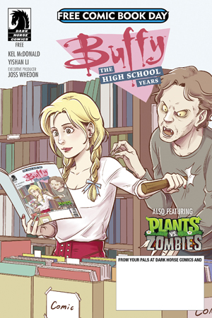 FCBD 2017 DARK HORSE BUFFY HIGH SCHOOL
