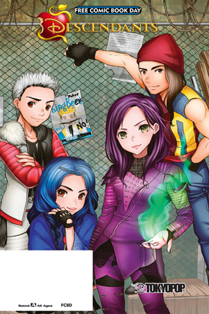 FCBD 2017 TOKYOPOP DISNEY DESCENDANTS