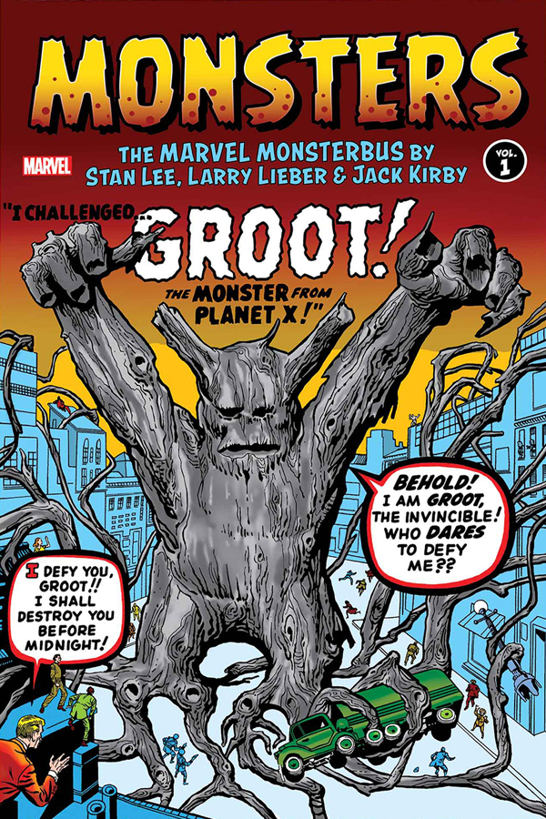 Monsters: Marvel Monsterbus by Lee, Lieber and Kirby