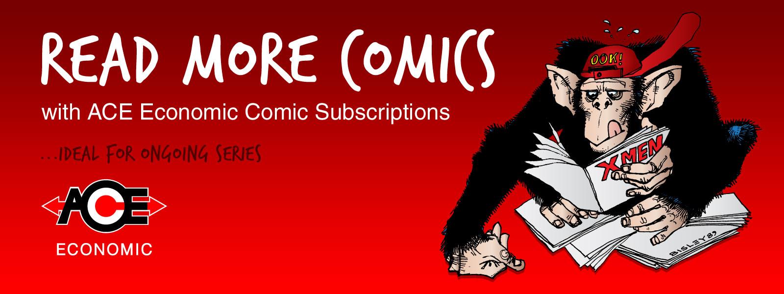 ACE Economic Comic Subscriptions