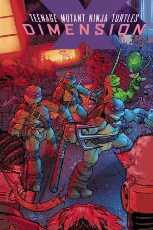 Teenage Mutant Ninja Turtles: Dimension X #1-5
