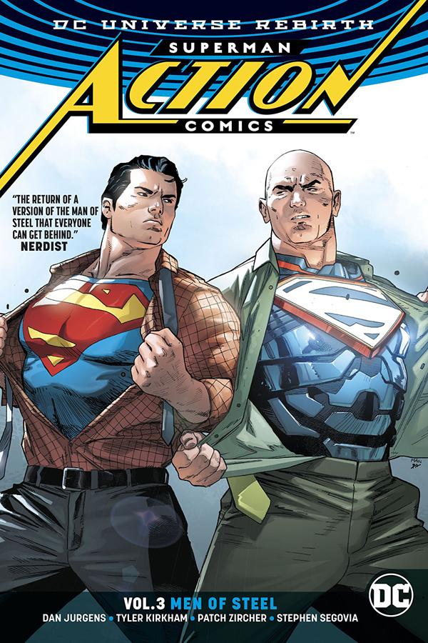 Superman - Action Comics Vol.03: Men Of Steel
