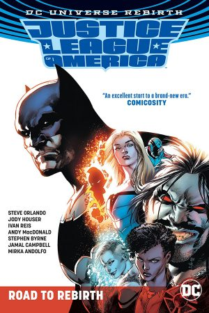 Justice League Of America: The Road To Rebirth