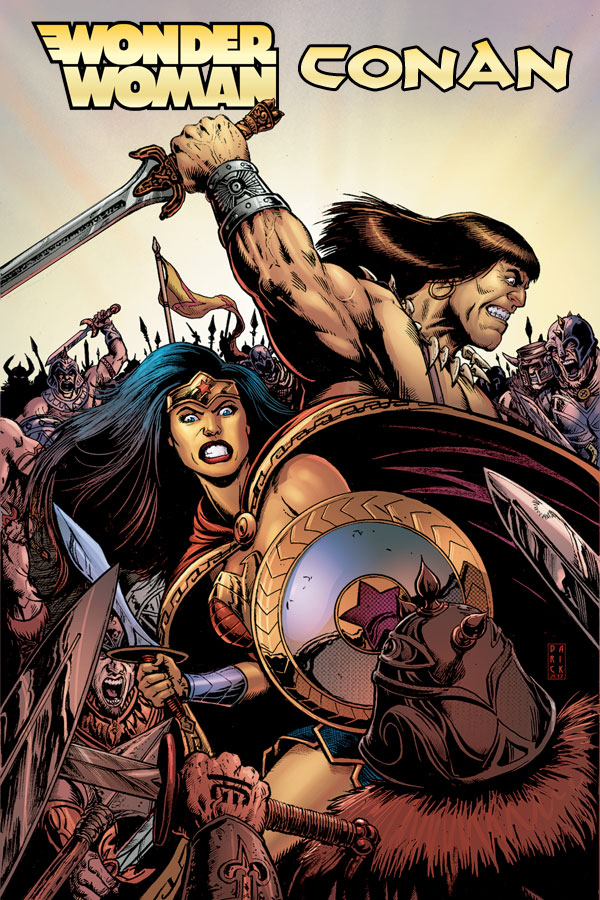 Wonder Woman / Conan #1-6