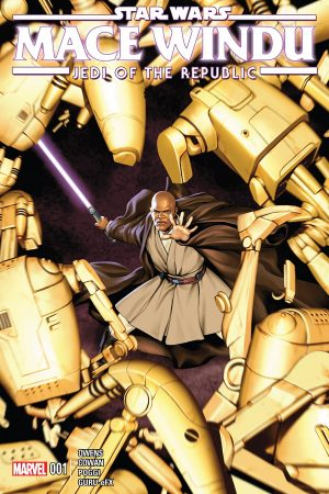 Star Wars: Mace Windu - Jedi of the Republic #1