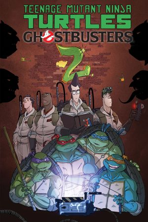 Teenage Mutant Ninja Turtles / Ghostbusters II #1-5
