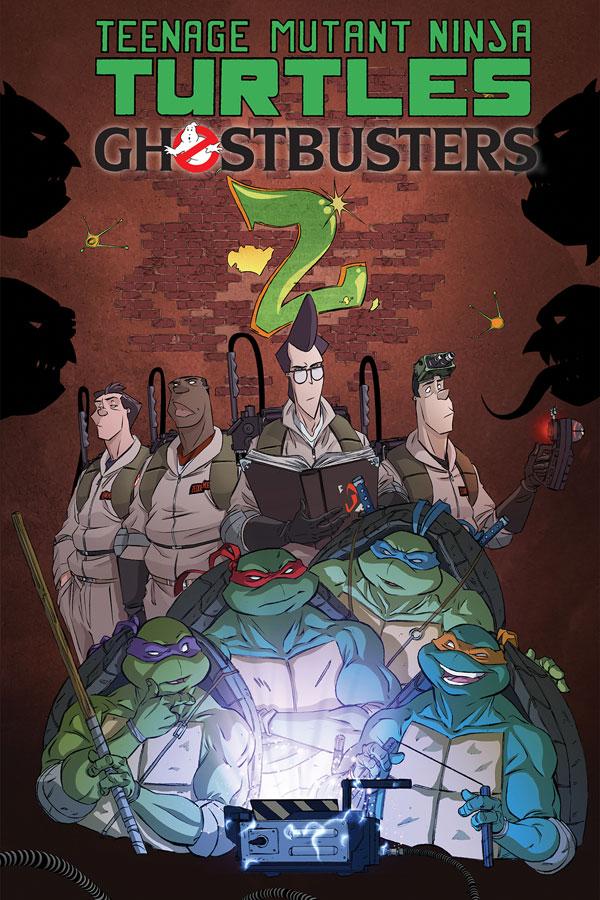 Teenage Mutant Ninja Turtles / Ghostbusters II #1-5