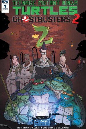Teenage Mutant Ninja Turtles / Ghostbusters II #1