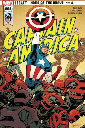 Captain America (2017-) #695
