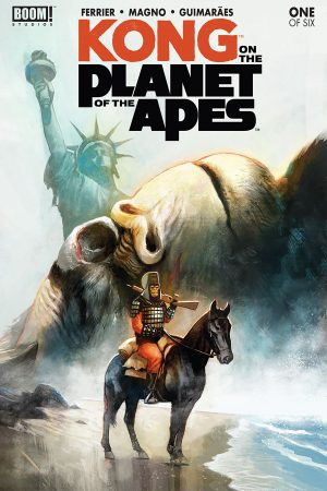 Kong on the Planet of the Apes #1 (of 6)