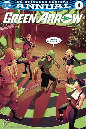 Green Arrow (2016-) Annual #1