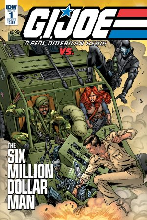 GI Joe vs The Six Million Dollar Man #1