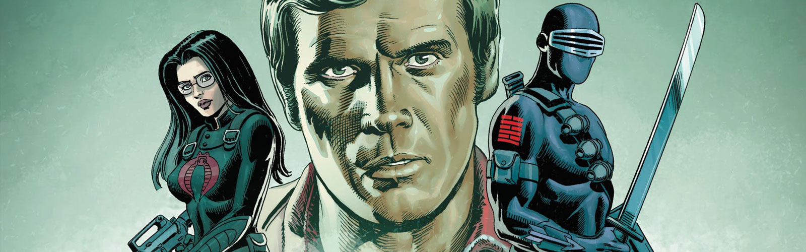 GI Joe vs Six Million Dollar Man #1