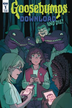 Goosebumps: Download And Die #1