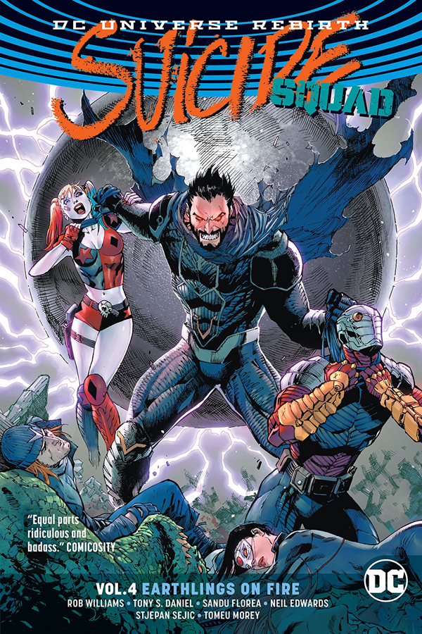 Suicide Squad Vol.04: Earthlings on Fire