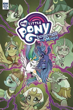 My Little Pony: Legends Of Magic - Annual 2018