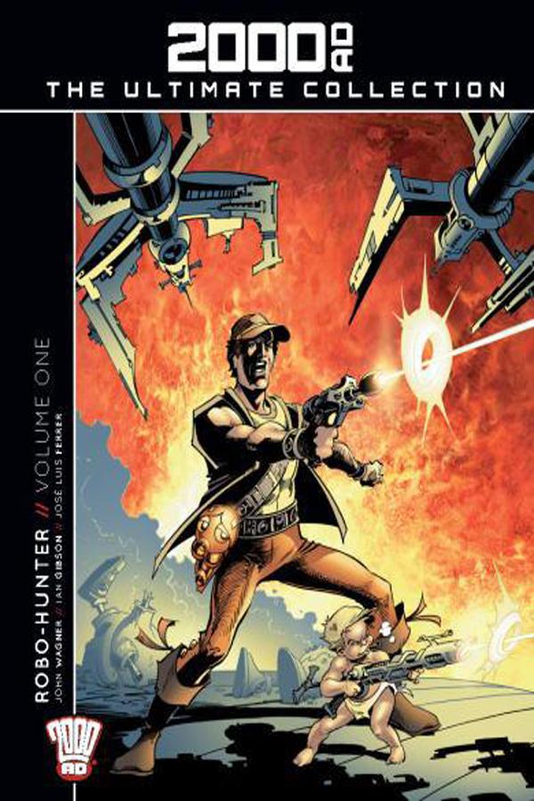 2000AD - Ultimate Collection No.11: Robo-Hunter Vol.01