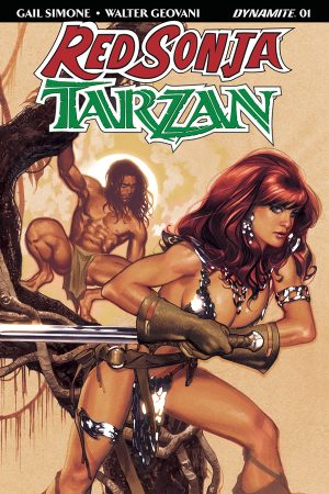 Red Sonja / Tarzan #1